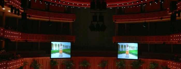 Adrienne Arsht Center for the Performing Arts is one of Miami: history, culture, and outdoors.