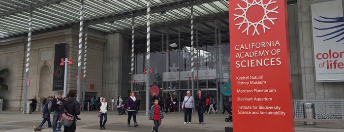 California Academy of Sciences is one of san fo.