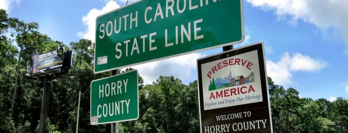 North Carolina / South Carolina State Line is one of Traeさんのお気に入りスポット.