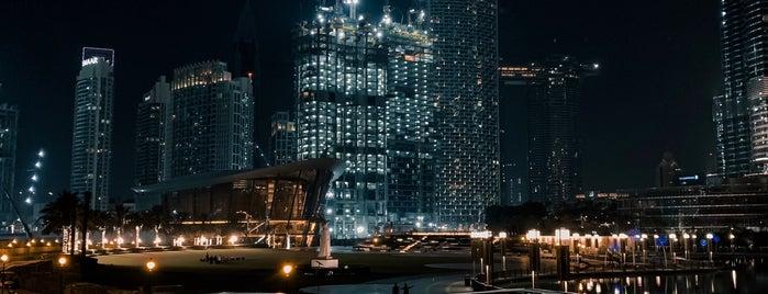 The Boulevard Walk is one of Dubai.