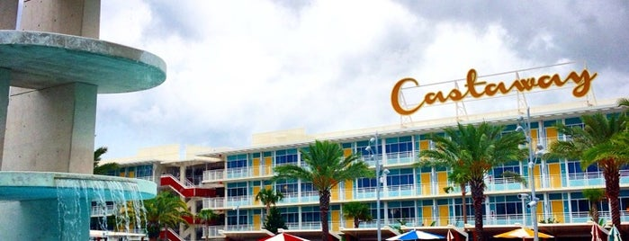 Universal's Cabana Bay Beach Resort is one of Tempat yang Disukai Fábio.