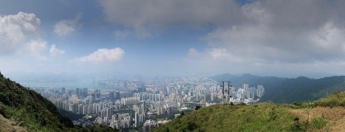 Kowloon Peak (Fei Ngo Shan) is one of HK.