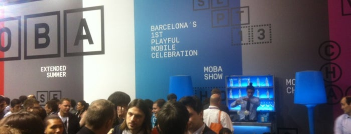 MLOVE @MWC13 Hall 3 C28 is one of MWC Useful Stuff & Places.