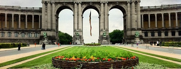 Parc du Cinquantenaire is one of Brussels.