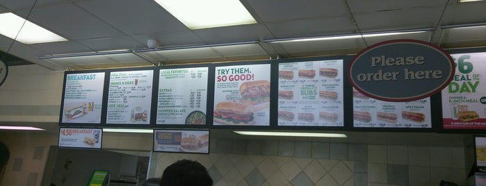 Subway is one of Top picks for Sandwich Places.