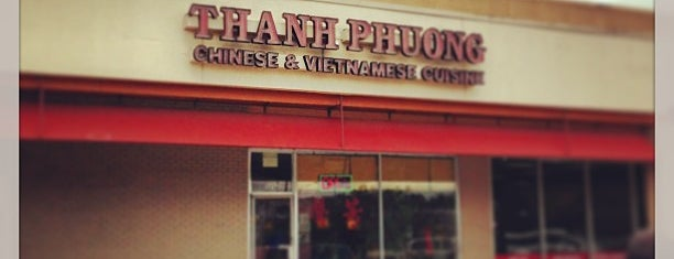 Thanh Phuong Chinese & Vietnamese Restaurant is one of Posti salvati di Andres.