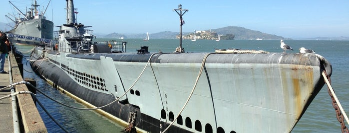 USS Pampanito is one of San Francisco Dos.