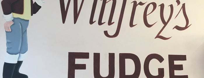 Winfrey's Fudge & Chocolates is one of Massachusetts Places.