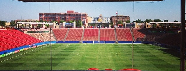 Toyota Stadium is one of Pro Stadiums in Texas.