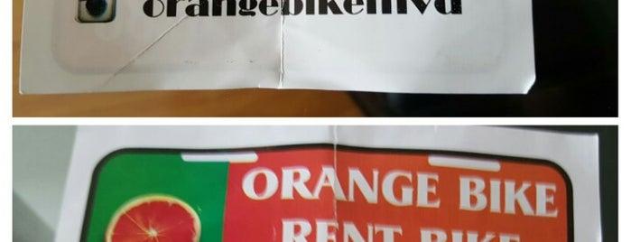orange bike is one of Uruguay.