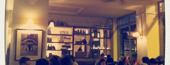 The Pig and Butcher is one of An Aussie's fav spots in London.