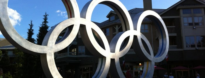 Olympic Rings is one of Seattle; Vancouver & Whistler.