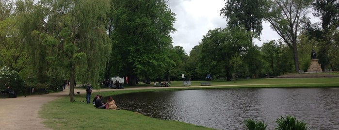 Westerpark is one of Amsterdam.