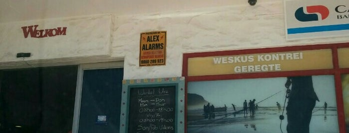 Die Winkel Op Paternoster is one of South Africa recommendations.