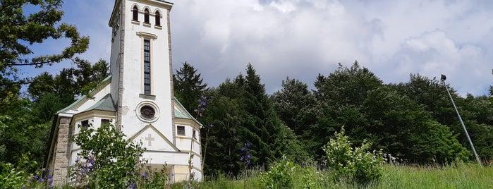 Kostel Sv. Antonína is one of Jizerky.