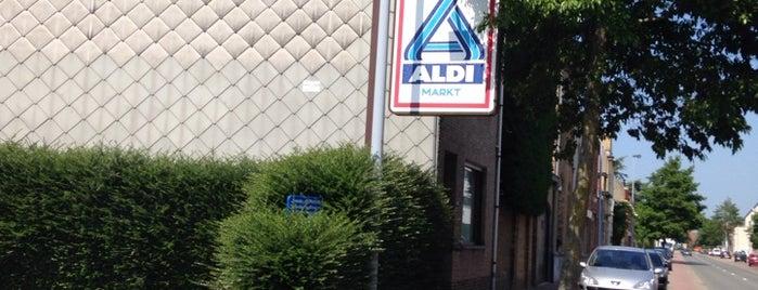 ALDI is one of Tempat yang Disukai Steven.