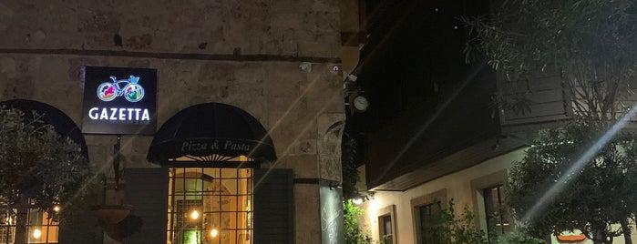Gazetta Brasserie - Pizzeria is one of Tolga : понравившиеся места.