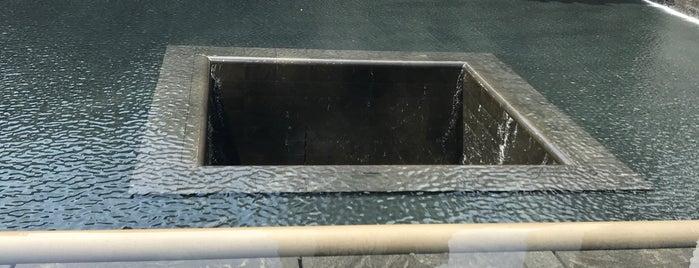 9/11 Memorial South Pool is one of Orte, die Laetitia gefallen.