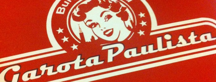 Garota Paulista Burger & Salad is one of Hamburguers do Paulones.