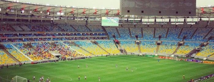 Estadio Maracaná is one of Lugares favoritos de João Paulo.