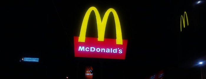 McDonald's is one of Burgers in Bengaluru.