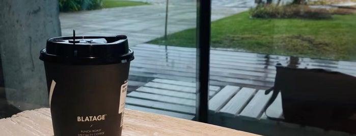 Blatage Coffee is one of My fav.