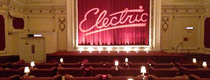 Electric Cinema is one of Travel Guide to London.