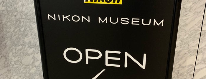 Nikon Museum is one of Japao.