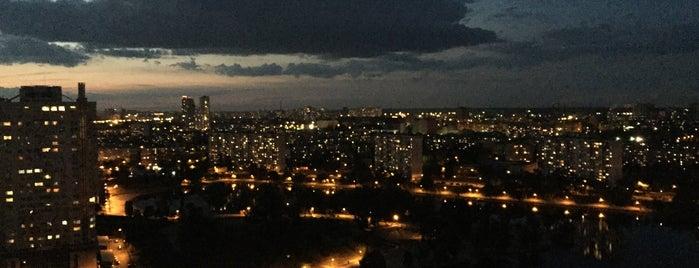 Вулиця Юрія Шумського is one of Lugares favoritos de Vitaliy.