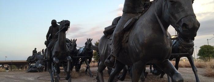 Centennial Land Run Monument is one of Oklahoma City.