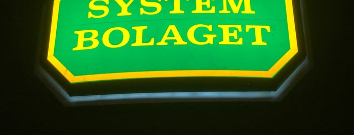 Systembolaget is one of Tempat yang Disukai Balázs.