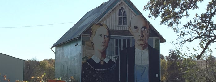 American Gothic Barn is one of Iowa.
