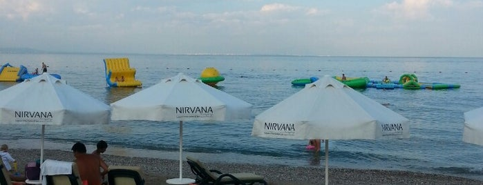 Nirvana Beach Club is one of Eğlence.