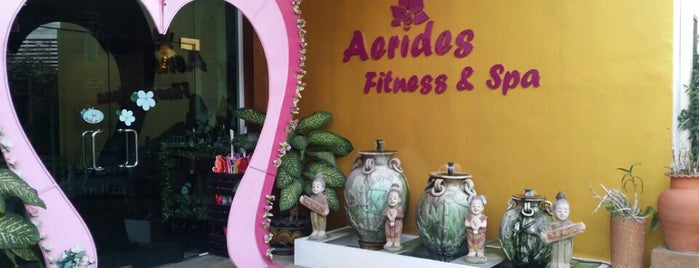 Aerides Fitness & Spa is one of Locais curtidos por Anna.