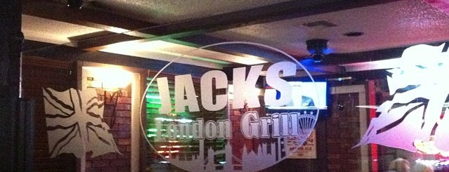Jack's London Grill is one of the best beer.