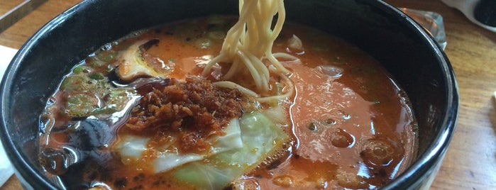 Jun-Men Ramen Bar is one of Heidi 님이 저장한 장소.
