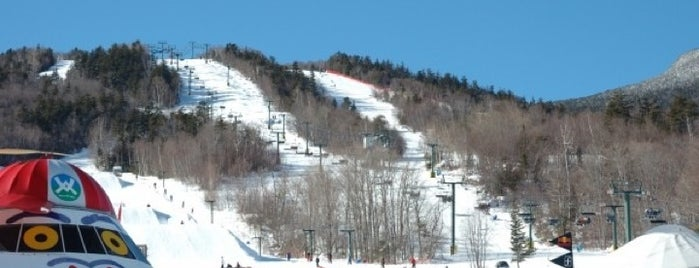 Waterville Valley Ski Area is one of badger.