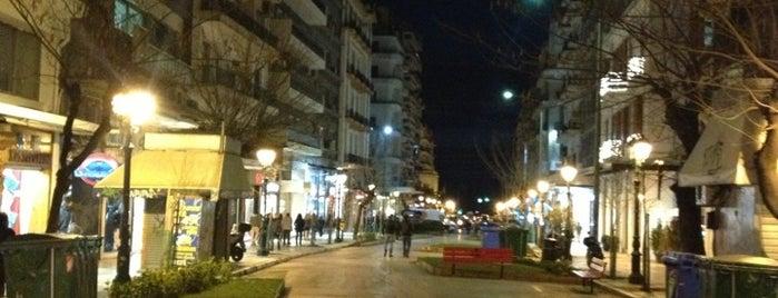 Πεζόδρομος Αγίας Σοφίας is one of Thessaloniki #4sqCities.