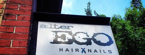 Alter EGO Salon and Blow Dry Bar is one of Lieux qui ont plu à Jiehan.