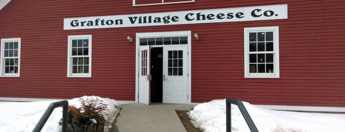 Grafton Village Cheese Company is one of Vermont.