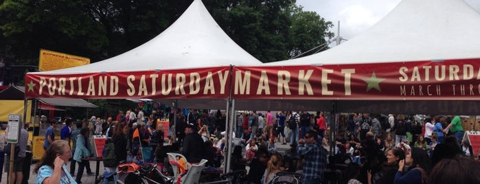 "Portland Saturday Market is one of ""Where I Take Visitors"" Guide to Portland."