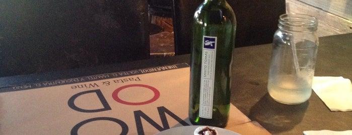 Wood Pasta & Wine is one of Locais curtidos por Armando.