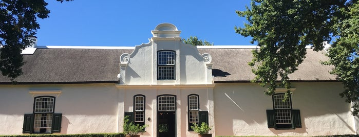 Boschendal is one of CPT.