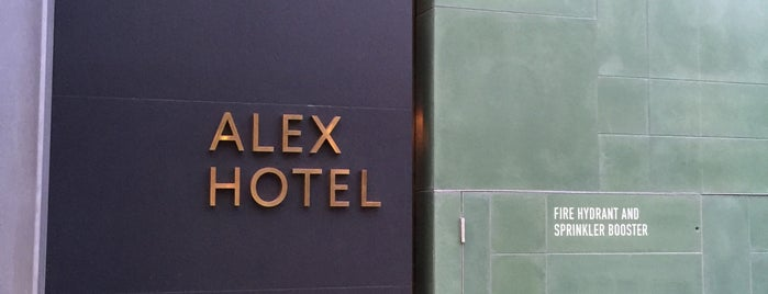 Alex Hotel is one of Perth.