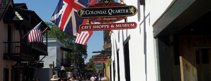 Colonial Quarter is one of St Augustine Florida.