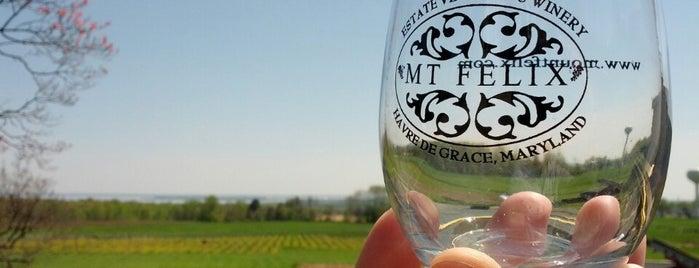 Mt  Felix Vineyard & Winery is one of Wineries Visited.