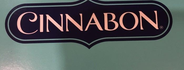 Cinnabon is one of Lindsaye'nin Beğendiği Mekanlar.