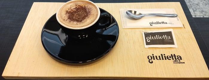 Giulietta Cafés is one of สถานที่ที่ Roy ถูกใจ.