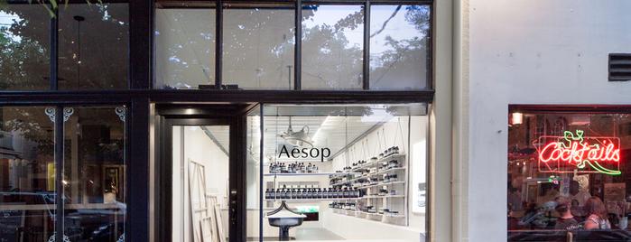 Aesop is one of Tempat yang Disukai Alberto J S.