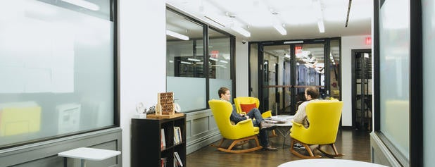 WeWork Madison is one of Startups & Spaces NYC + CA.